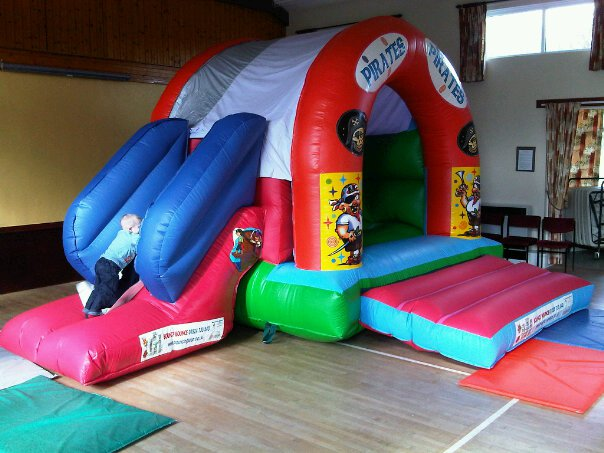 Pirates with slide - Bouncy Castles from R Leisure Hire Ltd - 01524 733540